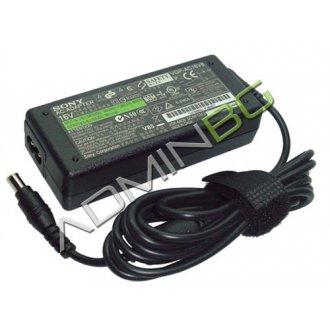 Оригинално Зарядно за лаптоп (Original Laptop Adapter) Sony Vaio - 16V / 4.0A / 65W - (6.5x4.4)