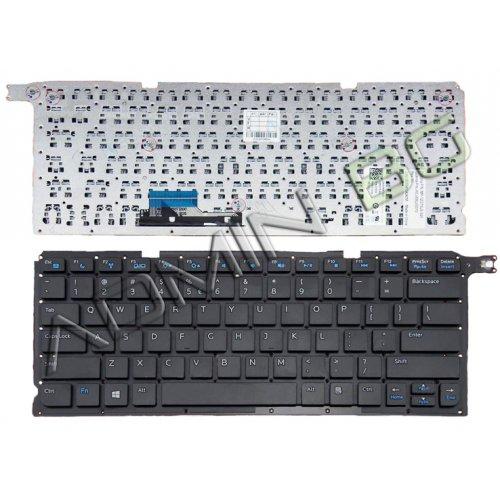 Клавиатура за лаптоп Dell Vostro 5460 5470 5480 Черна Без Рамка (Малък Ентър) / Black Without Frame US