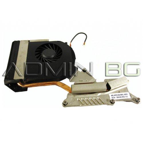 Вентилатор за лаптоп (CPU Fan) + HeatSink Acer Aspire 7736G 7736ZG - 60.PPN01.001