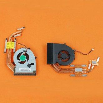 Вентилатор за лаптоп (CPU Fan) Fujitsu LifeBook AH522 AH532 LH522 LH532 (For Independent Graphics) с Меден Охладител / With HeatSink