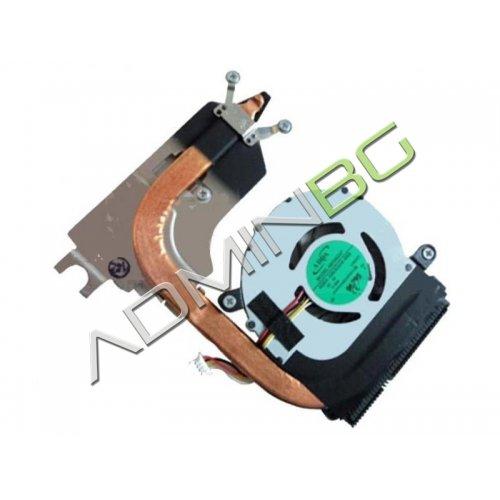 Вентилатор за лаптоп (CPU Fan) + HeatSink Acer Aspire 1410 1810 Aspire One 752 Packard Bell DOM MRU