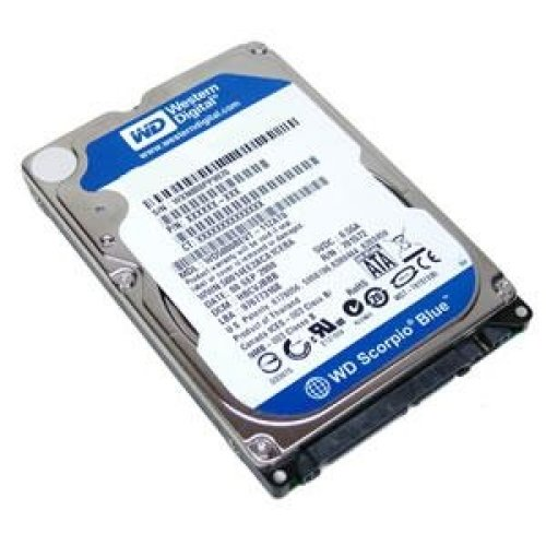 Хард диск за лаптоп - HDD for Notebook WD Scorpio Blue 750GB 5400/SATA3/8MB WD7500BPVX