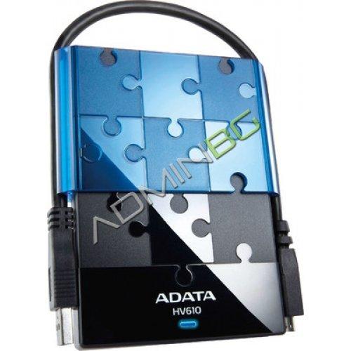 HDD External A-Data DashDrive HV610 1TB USB3.0 Black