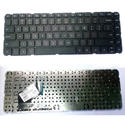 Клавиатура за лаптоп HP Pavilion 14-B000 Черна Без Рамка (За Android) с Кирилица / Black Without Frame