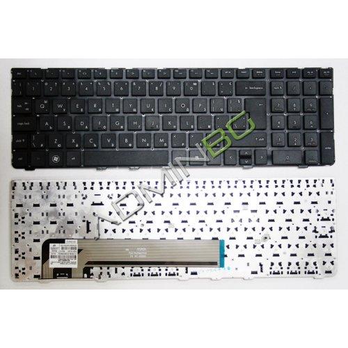 Клавиатура за лаптоп HP ProBook 4535S 4530S 4730S Черна UK без Рамка с Кирилица