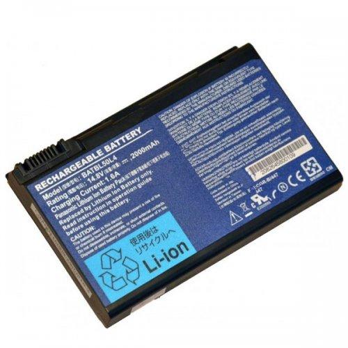 Оригинална Батерия за лаптоп Acer Aspire 3100 5100 5630 9800 TravelMate 2490 4200 5210 BATBL50L4 (4 cells)