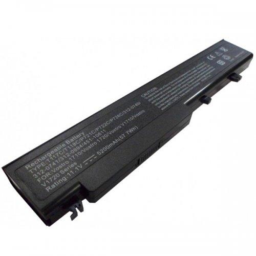 Батерия за лаптоп Dell Vostro 1710 1720 T117C (8 cell) - Заместител