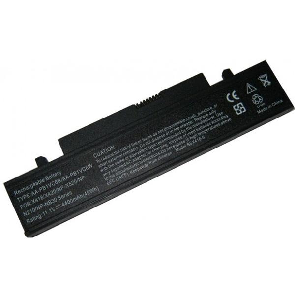 Батерия за лаптоп Samsung N218 N220P NP-N145 NP-N210 NP-N220 NP-NB30 NP-Q328 NP-X318 NP-X320 NP-X418 NP-X420 NP-X520 AA-PB1VC6B AA-PB1VC6W (6 cell) Заместител