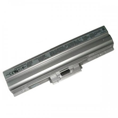 Батерия за лаптоп Sony Vaio Vaio VGN-CS VGN-FW VGN-NS VGN-NW VGN-SR Сребриста - Заместител