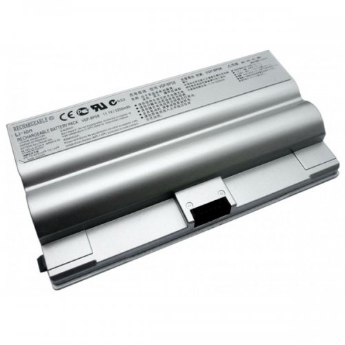 Батерия за лаптоп Sony Vaio VGN-FZ Сребриста Заместител