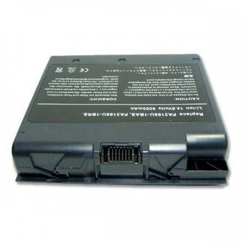 Батерия за лаптоп Toshiba Satellite 1900 1905 PA3166U (12 Cell) - Заместител