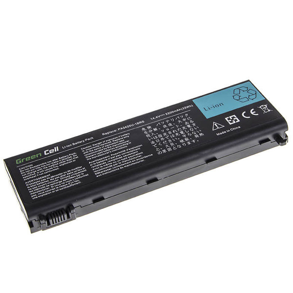 Батерия за лаптоп Toshiba Satellite L10 L20 L30 L35 L100 PA3450 PA3420U PA3506U (8 Cell) - Заместител