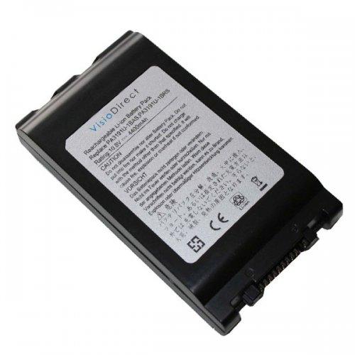 Батерия за лаптоп Toshiba Portege M200 M205 M400 M700 Satellite R10 R15 R20 Tecra M4 M7 PA3191U (6 Cell) - Заместител