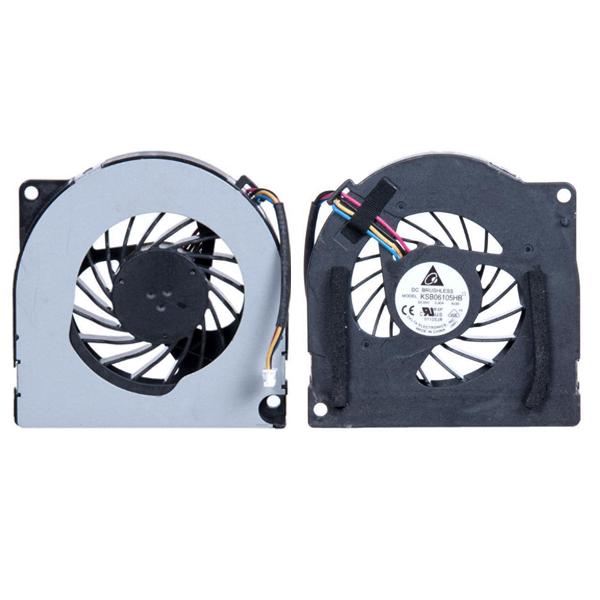 Вентилатор за лаптоп (CPU Fan) Asus K72F K72JR (4 кабела)