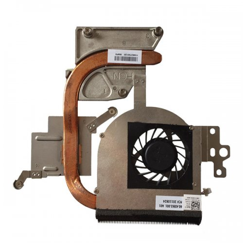 Вентилатор за лаптоп (CPU Fan) + HeatSink Dell Inspiron N5110 Discrete (ATI / NVIDIA)