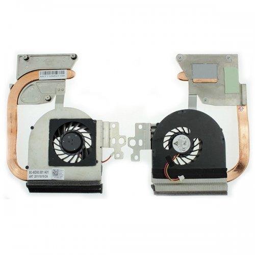 Вентилатор за лаптоп (CPU Fan) + HeatSink Dell Inspiron N5110 UMA