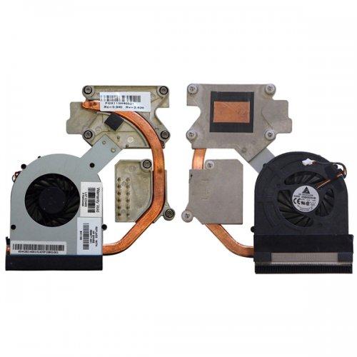 Вентилатор за лаптоп (CPU Fan) + HeatSink HP 598677001 HP ProBook 4520S 4720S