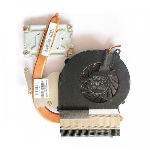 Вентилатор за лаптоп (CPU Fan) + HeatSink HP Compaq Presario CQ43 HP 630 631 (Intel с отделно видео)