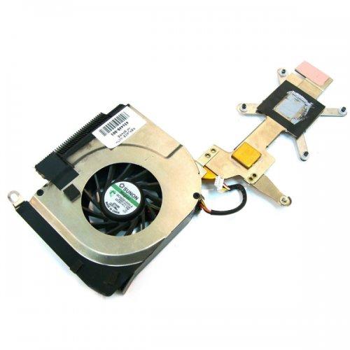 Вентилатор за лаптоп (CPU Fan) + HeatSink HP DV6000 DV6100 DV6200 DV6300 DV6400 (За AMD процесор)
