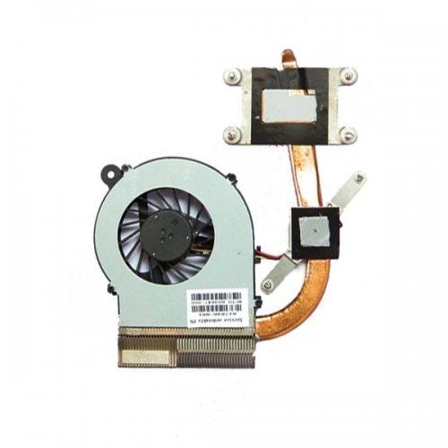 Вентилатор за лаптоп (CPU Fan) + HeatSink HP Compaq Presario CQ42 CQ62 HP G42 G62 G72 (за модели с Intel)