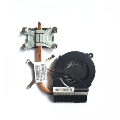 Вентилатор за лаптоп (CPU Fan) + HeatSink HP Pavilion G6-1000 G6-2000 G6-2310ET (За модели с Intel)