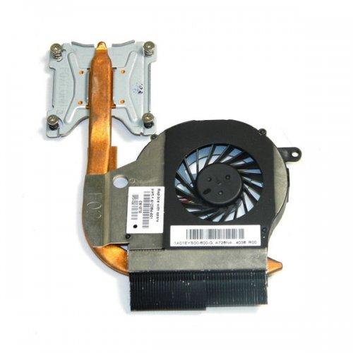 Вентилатор за лаптоп (CPU Fan) + HeatSink HP Compaq Presario CQ42 CQ62 HP G42 G62 (AMD с вградено видео)