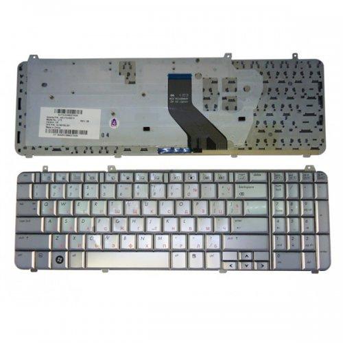 Клавиатура за лаптоп HP Pavilion DV6-1000 DV6-2000 Сребриста с Кирилица