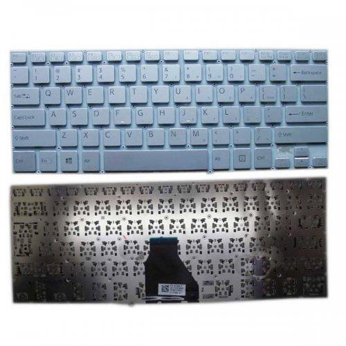 Клавиатура за лаптоп Sony Vaio FIT 14E NO Frame Silver US