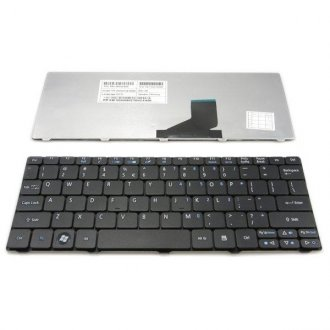 Клавиатура за лаптоп Acer Aspire One 532 532H AO532H D260 521 Black US/UK