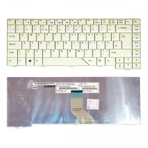 Клавиатура за лаптоп Acer Aspire 4430 4710 4930 5320 White с Кирилица