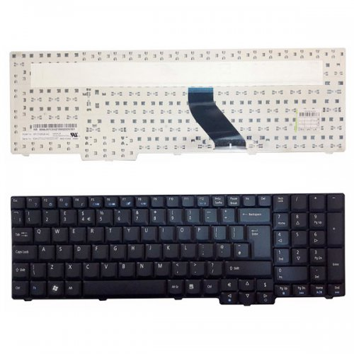 Клавиатура за лаптоп Acer Extensa 5635 5235 7220 7620 Black US/UK