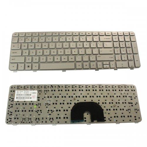 Клавиатура за лаптоп HP DV6-6000 Сребриста Frame Сребриста със Сребриста рамка
