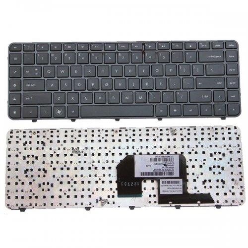 Клавиатура за лаптоп HP Pavilion DV6 DV6-3000 Черна с Черна Рамка / Black Frame Black