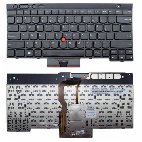 Клавиатура за лаптоп Lenovo ThinkPad T430 L430 W530 T430I T430S X230I X230 T530I Black / Черна