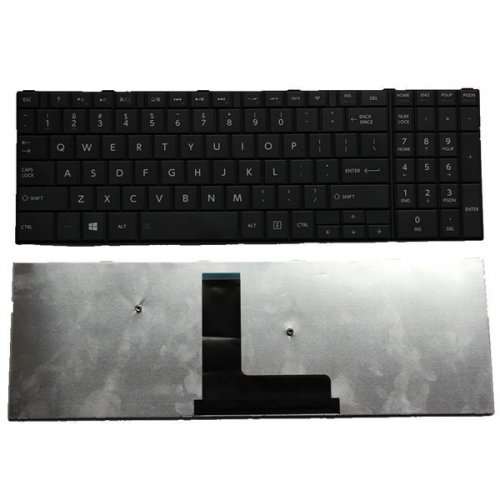 Клавиатура за лаптоп Toshiba Satellite C50-B C55-B C55A-B C55D-B - Черна