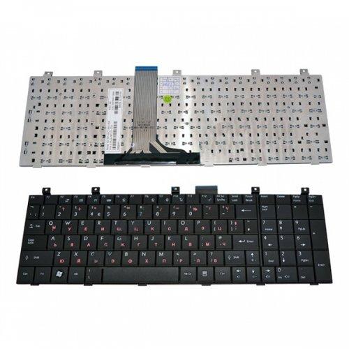 Клавиатура за лаптоп MSI EX600 CX600 Black US С Кирилица