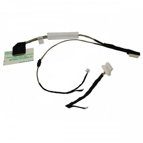 Лентов Кабел за лаптоп (LCD Cable) Acer Aspire One D250 eMachines250 KAV60 БЕЗ микрофон, с голям конектор за камерата