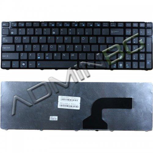 Клавиатура за лаптоп Asus G72 G73 F50 F70SL K52 Black Frame Black Glossy US/UK