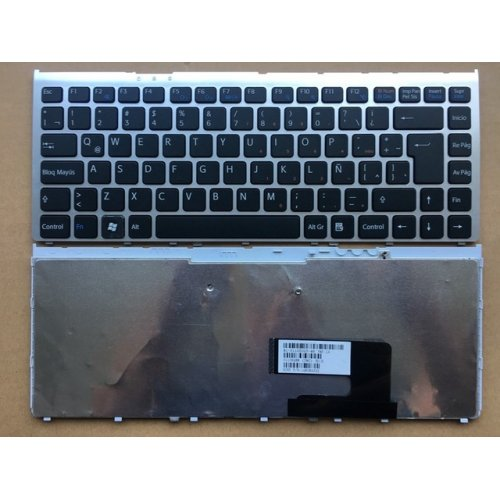 Клавиатура за лаптоп Sony Vaio VGN-FW VGN FW Series Silver Frame Black