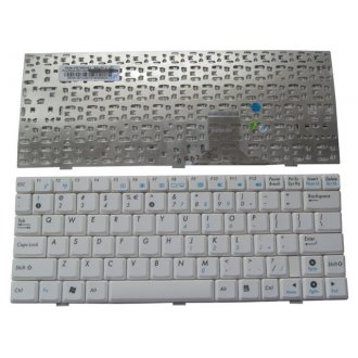 Клавиатура за лаптоп Asus Eee PC 1000HE 1000HG 1004DN 1005PR White US/UK