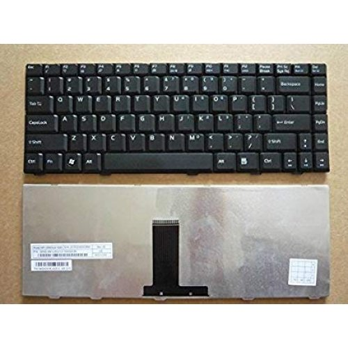 Клавиатура за лаптоп Asus F80 Black US/UK
