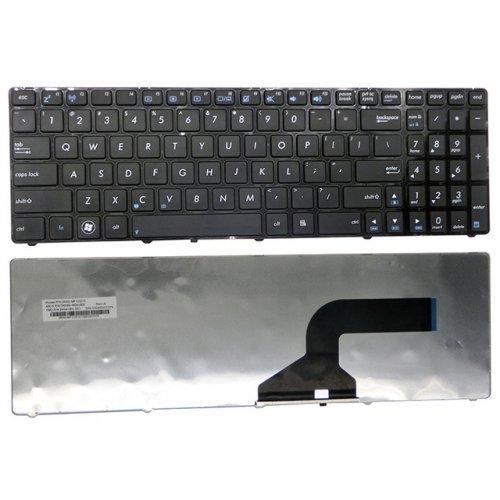 Клавиатура за лаптоп Asus G51 A52 N60 N61 N70 N71 K53 Black Frame Black Matt US/UK