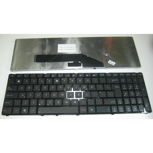 Клавиатура за лаптоп Asus K50 K70 K60 K51 X5DC Black Frame Black US/UK