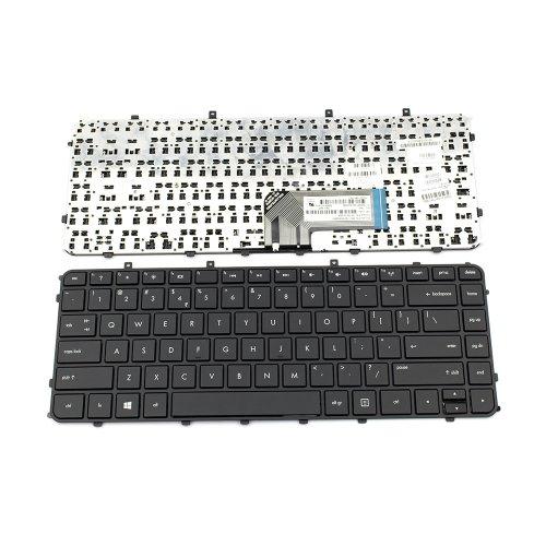 Клавиатура за лаптоп HP Envy 4-1000 - Черна Рамка с Черни Бутони (Without Foil For Backlit)
