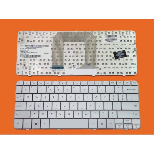 Клавиатура за лаптоп HP Pavilion DM1 dm1-1000 dm1-1100 Mini 311-1000 Сребриста / Silver