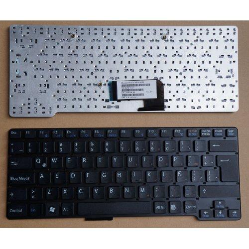 Клавиатура за лаптоп Sony Vaio VGN-CW Series Black UK NO Frame