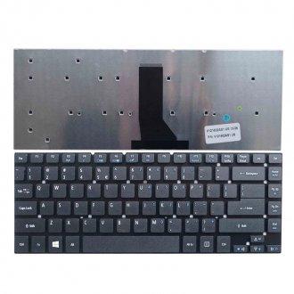 Клавиатура за лаптоп Acer Aspire 3830 4755 4830 ES1-511 ES1-520 No Frame Black / Черна Без Рамка с Enter US/UK