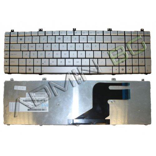 Клавиатура за лаптоп Asus N55 Silver US/UK с Кирилица