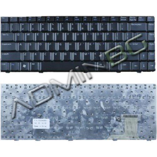 Клавиатура за лаптоп Asus W3 W3J A8 F8 N80 X80 X83 W3000 Black US/UK
