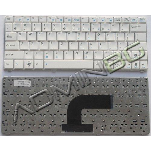 Клавиатура за лаптоп Asus N10 N10J N10E White US/UK